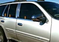 2002-2009 GMC Envoy Window Sill Trim Stainless Steel Overlay Chrome