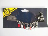 Bremen Metall Magnet XL mit Kette Souvenir Germany 14 cm !!!
