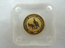 Australia 1998 The Australian Nugget / Kangaroo 1/20 oz $5 Gold Coin