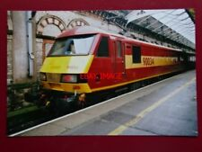 PHOTO  CLASS 90 ELECTRIC LOCO 90034 IN EWS LIVERY