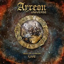 AYREON -AYREON UNIVERSE-BEST OF AYREON LIVE JEWELCASE WITH GOLD FOIL  2 CD NEUF
