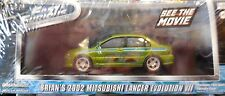 Green Light 1:43 scale Fast & Furious Brian's 2002 Mitsubishi Lancer Evolution