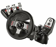Brand New, Factory Sealed Logitech G27 Racing Wheel PC Sony Playstation PS2 PS3