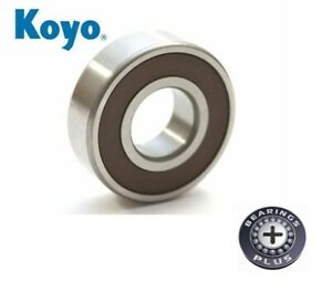 KOYO 6205 2RS DEEP GROOVE BALL BEARING SEALED  25X52X15MM
