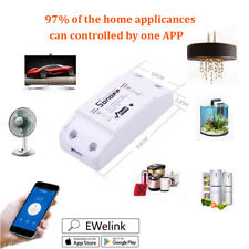 6x Sonoff Remote WiFi Wireless Smart Switch Module Shell ABS Socket for Home DIY