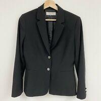 Tahari Arthur S. Levine black blazer jacket women's Sz 6
