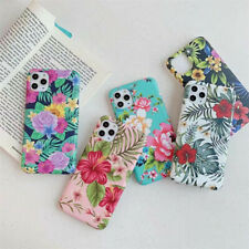 For iPhone SE 2020 11 Pro Max XS XR 8 7 Plus Floral Girls Women Slim Case Cover