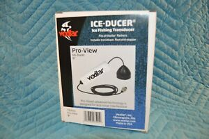 VEXILAR MARINE PRO VIEW 9° DEGREE SINGLE-BEAM ICE FISHING TRANSDUCER TB0051