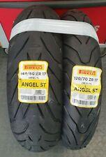 Coppia gomme Moto PIRELLI ANGEL ST 120/70 zr 17  58W + 160/60 zr 17 69W OFFERTA