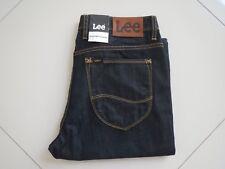 Men's Lee L3 Straight & Narrow Stay Dark Blue Denim Jeans Size 31