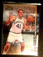 Dirk Nowitzki 1998-99 Topps Finest #234 Rookie Card Dallas Mavericks