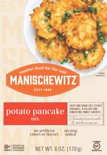 Manischewitz Potato Pancake Mix 6 oz Lactose Free Kosher Pareve Case of 12