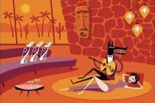"SHAG Josh Agle ""Palm Springs Serenade"" Unframed Serigraph Art Proof Print Mint"