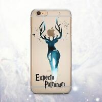 Harry Potter Patronum Silicone iPhone XS Max Case Cover iPhone 6s 7 Plus X XR XS
