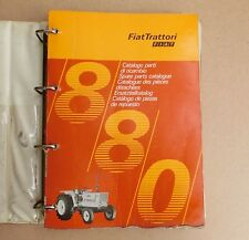 FIAT 880  Schlepper Traktor  Ersatzteilliste Allrad Orginal 1975