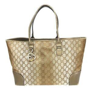 100% Authentic GUCCI GG Supreme Handbag 269956 [Used] {08-353D}