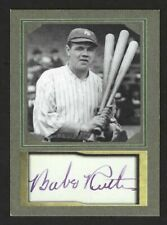 BABE RUTH - ACEO AUTOGRAPH CARD #1 - MINT CONDITION