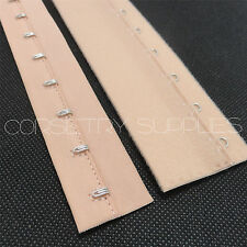 Apricot Hook and Eye Loop Tape Corset Bra Lingerie Costume Supplies 25cm Long