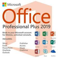 MICROSOFT OFFlCE 2019 PROFESSIONAL PLUS 32/ 64bit License Key Instant Delivery
