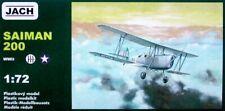 Avion de reconnaissance Italien SAIMAN 200, WW2 - KIT JACH MODELS 1/72  N° 72103