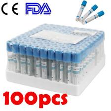100pcsset Glass Sterile Buffered Sodium Blood Collection Tubes Coagulation Ce