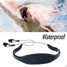 Waterproof Sport MP3 Player ipx8 4GB FM Radio Headset Swimming Surfing Diving