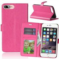 Luxury Leather Magnetic Flip Wallet Card Stand Case Cover Skin For Huawei Phones