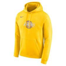 New Nike 2019-2020 Los Angeles Lakers City Edition Club Logo Hoodie Sweatshirt