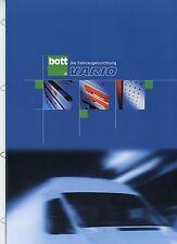 Prospekt Bott Vario Fahrzeugeinrichtung 8 02 2002 Broschüre brochure broschyr