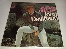 "John Davidson ‎– ""The Time Of My Life""  (U.S)  LP (1966) CS 9380 (Columbia)"