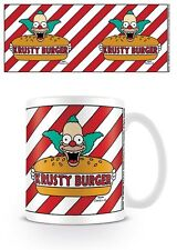 THE SIMPSONS KRUSTY BURGER MUG NEW GIFT BOXED 100 % OFFICIAL MERCHANDISE