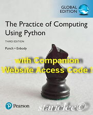 NEW 3 Day AUS The Practice of Computing Using Python 3E Enbody Punch 3rd Edition