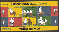 Netherlands 2005 Childwelfare Strip rabbit Nijntje MNH S/S
