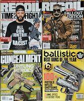 Lot Of 4 RECOIL Magazine # 52/53 / CONCEALMENT #20 / BALLISTIC #07 Dec/Jan 2021