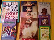 Lot 9 Religious Books Age 5-10 curriculum stories activities homeschool worship