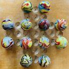 12 MINT- JABO Hillbilly Magic marbles! Killer! Jackpot! Wow! #501