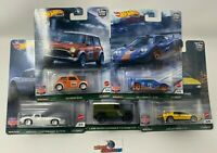 British Horse Power * 5 Car Set * 2021 Hot Wheels Car Culture Case A, McLaren