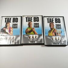 Billy Blanks DVD Lot of 3 Tae Bo Fitness Performance Strength Foundation Workout