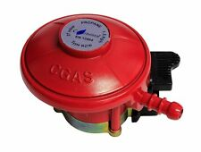 27mm PATIO/BBQ GAS PROPANE REGULATOR 37mbar - Clip On Fitting -Fits Calor/Flogas