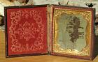 Antique+Victorian+Tintype+Winter+Scene+Photo+Picture+Pressed+Paper+Case+-+VNice