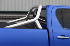 TOYOTA HILUX  REVO 2016 DOUBLE CAB ROLL BAR INOX 70 X ROLL AND LOCK