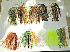 Holy Moley Mix! 10 Hole In One Skirts For Spinner Baits, Buzz Baits, Or Jig
