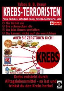 Krebs-Terroristen: Pizza, Pommes, Schnitzel, Toast, Nutella, Sahnetorte, Cola. D