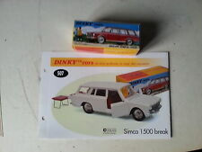 dinky atlas break simca 1500