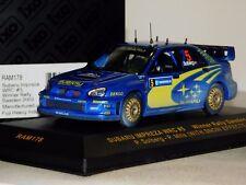 SUBARU IMPREZA WRC #5 WINNER SWEDEN 2005 P. SOLBERG IXO (SNOW DIRTY) RAM178 1/43