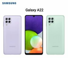 "Nueva marca SAMSUNG GALAXY A22 5G 128GB 6GB Ram Doble Sim Desbloqueado 2021 Modelo 6.6"""