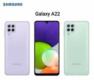 SAMSUNG GALAXY A22 4G/5G & 64GB/ 128GB 4/6GB RAM DUAL SIM UNLOCK 2021 BRAND NEW