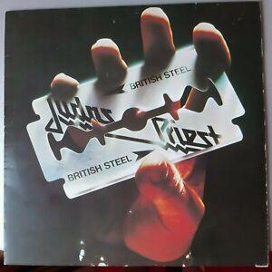JUDAS PRIEST ,, BRITISH STEEL,, 1980   VG .LP
