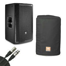 JBL PRX812W Main System/Floor Monitor With Speaker Cover and XLR Cable