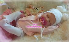 ✨BabyGirl* Reborn Reallife Baby Girl BS von U.L Krautter Babypuppe Puppe✨